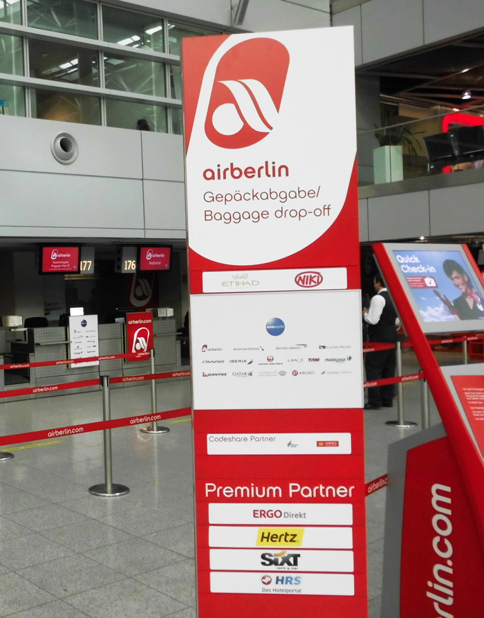 Air Berlin Schalter Check in