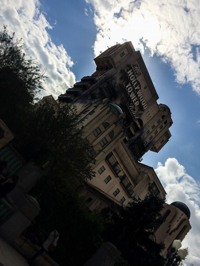 Disneyland Twilight Tower of Terror