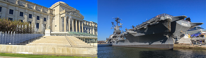 reisefuehrer_new-york-+-stadtplan_brooklyn-museum_Intrepid-Sea,-Air-&-Space-Museum