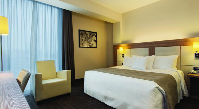 Doubletree-Mailand-Zimmer